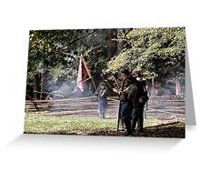 First canon shot Greeting Card