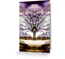 As I face the path, it opens before me Greeting Card