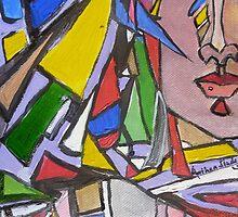 Geometric Beauty  by Anthea  Slade