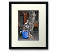 Broom Rarely Used Framed Print