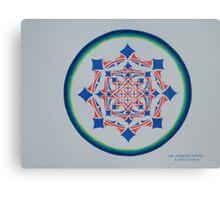 Dragons Wheel Canvas Print