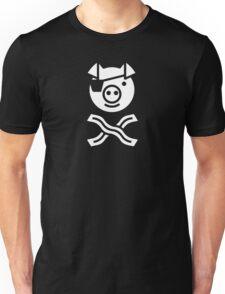 Pirate Pig Unisex T-Shirt