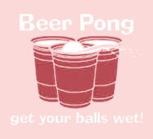 BEER PONG CHAMPION DRINKING GAME Baby Tee