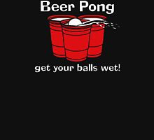 BEER PONG CHAMPION DRINKING GAME Unisex T-Shirt