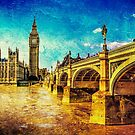 Houses of Parliament - London 2 by Nigel Finn
