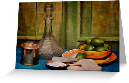 Still Life With Limes by shutterbug2010