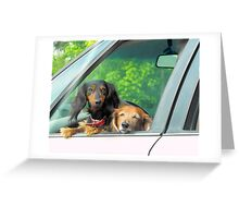 Different generations Greeting Card