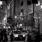 Tokyo Christmas Shopping - Japan by Norman Repacholi