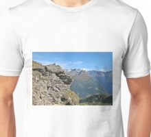Austria, Alps mountain landscape  Unisex T-Shirt