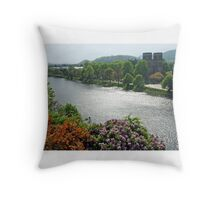 River Ness - Inverness - Scotland Throw Pillow