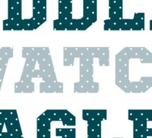 Let's Cuddle And Watch Eagles Football. Sticker