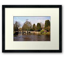 Sheepwash Packhorse Bridge Framed Print