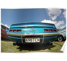 69BTCH Chevrolet Classic Cars  Poster
