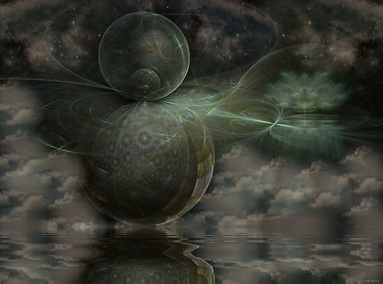 Twilight's Magic by Craig Hitchens - Spiritual Digital Art