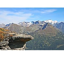 Austria, Alps mountain landscape  Photographic Print