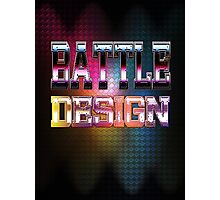 Battle Design Photographic Print