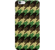 Camouflage Houndstooth iPhone Case/Skin