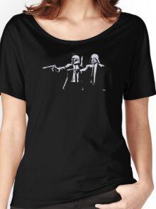 Cartoon Pulp Movie Fiction Parody Women's Relaxed Fit T-Shirt