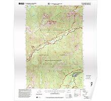 USGS Topo Map Washington State WA Goose Prairie 241360 2000 24000 Poster