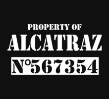 Property of alcatraz by personalized