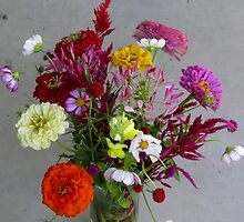 Color my life flowers vase by francelal