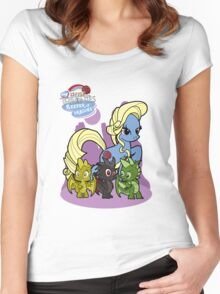 My Little Thonies Women's Fitted Scoop T-Shirt