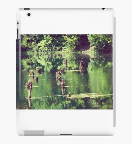 Emerald water iPad Case/Skin