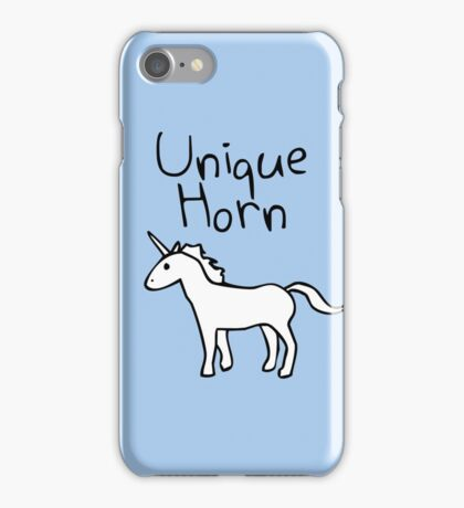 Unique Horn Unicorn iPhone Case/Skin