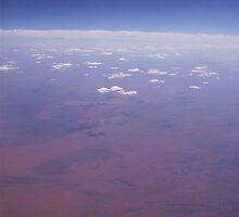 Aerial View of Australia by SophiaDeLuna