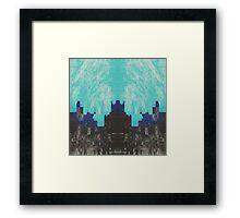 oz-e-an Framed Print