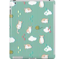 Chubby Kitty Pattern iPad Case/Skin