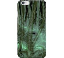 Undergrowth in Green iPhone Case/Skin
