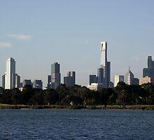 Melbourne - Albert Park Lake by SophiaDeLuna