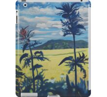 Landscape with nettles iPad Case/Skin