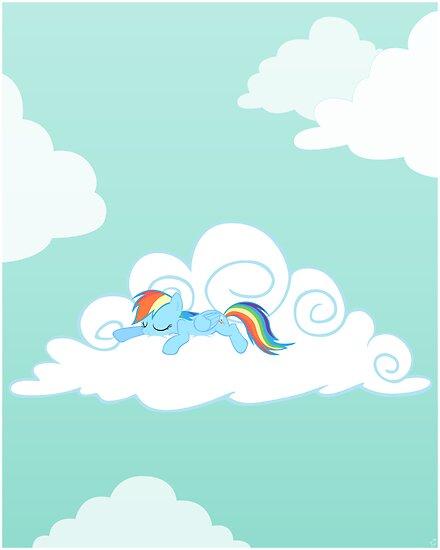 Sleepy Pony by Stinkehund