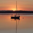 Sailing into the sunset by Donna Keevers Driver