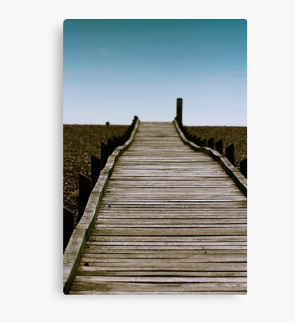 Dungeness Walkway Canvas Print