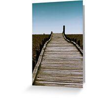 Dungeness Walkway Greeting Card
