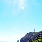Bubbly beaches and the sunlit lighthouse by Simplastic