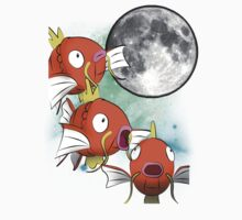 Three Magikarp Moon by jinsume