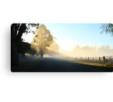 """Misty Morning"" Canvas Print"
