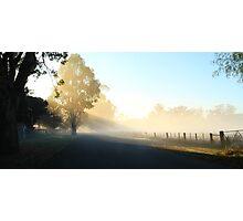 """Misty Morning"" Photographic Print"