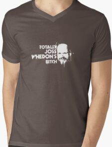 Totally Joss Whedon's Bitch Mens V-Neck T-Shirt