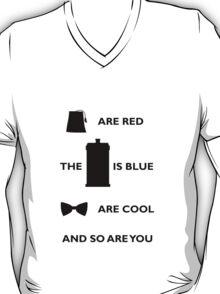 Doctor Who T-Shirt Black T-Shirt