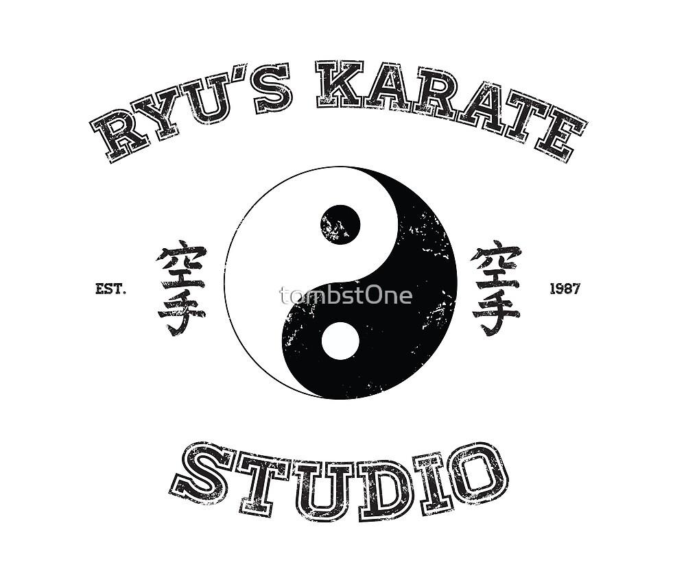 Ryu's Karate Studio by tombst0ne