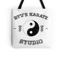 Ryu's Karate Studio Tote Bag