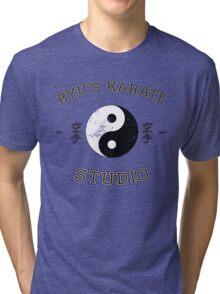 Ryu's Karate Studio Tri-blend T-Shirt