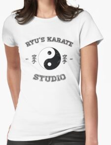 Ryu's Karate Studio Womens Fitted T-Shirt