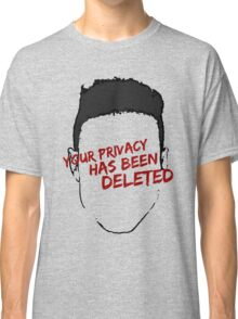 mr robot - your privacy has been deleted Classic T-Shirt