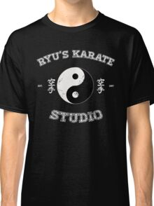 Ryu's Karate Studio - Black Version Classic T-Shirt